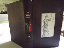 NELSON MANDELA  SIGNED - THE STATE Vs. NELSON MANDELA by JOEL JOFFE  1ST  2007