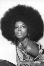 Diana Ross 24x36 Poster afro hairstyle 1970's photo shoot striking image