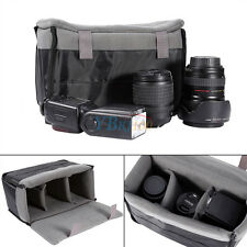 Partition Padded Camera Bag DSLR SLR Inner Insert Folding Protect Case