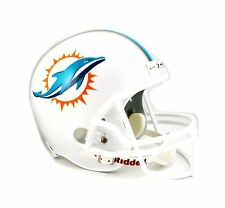 Miami Dolphins Riddell NFL Football Deluxe Full Size Helmet New in Box