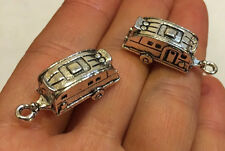 4 pieces CAMPER RV Camping Trailer Motor Home CHARMS - Adorable! Great Gift!