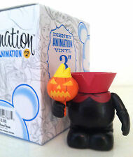 "DISNEY VINYLMATION 3"" ANIMATION 2 HEADLESS HORSEMAN CHASER ICHABOD & MR TOAD TOY"