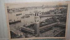 VENEZIA PANORAMA DALL AEROPLANO 1935 veduta Vecchia foto cartolina fotografia di