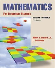 Mathematics for Elementary Teachers An Activity Approach with Manipulative Kit