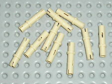 LEGO technic 10 tan pins ref 32556 / sets 8070 8297 7644 10195 8294 8258 8547 ..