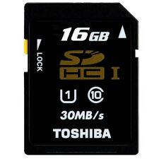 Toshiba Ultra 30MB/s 16GB Class 10 SD SDHC 200X UHS-I FULL HD Flash Memory Card