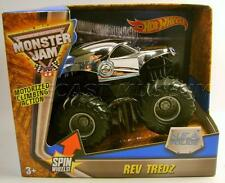 NEA POLICE COP CAR MONSTER JAM REV TREDZ TRUCK HOT WHEELS 2016