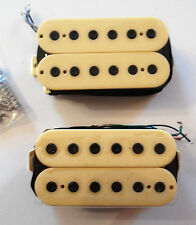 Neuf Set Humbuckers - cream color -  pour guitare GIBSON, FENDER, Epiphone...