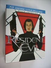 RESIDENT EVIL COLLECTION - 5BLURAY BOXSET - NEW SEALED - MILLA JOVOVICH