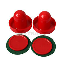 Best-selling  Mini Air Hockey 65mm Goalies 50mm Pucks Felt Pusher Set CN Seller