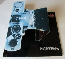 "DEF LEPPARD PHOTOGRAPH Original ""pop up camera"" piscture sleeve Heavy Metal !"