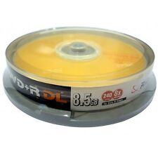 RiData RITEK 8x Speed (DUAL LAYER+R) Branded 8.5GB DVD+R (10 TUB)