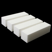 10x White Nail Art Buffer Buffing Sanding File Block For Manicure Pedicure HCUK
