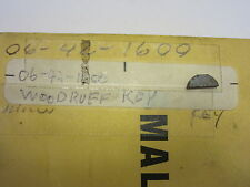 Milwaukee Woodruff Key # 06-42-1600 Drill/Polisher/Sander & more New Old Stock