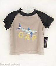 Baby Gap UV Protection Boy's Swimming Tee Top sz.3-6 mos. NWT
