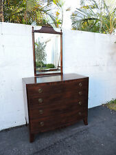 Mahogany Dresser with Mirror by Johnson Furniture of Grand Rapids 7999