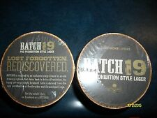 100 COUNT BATCH 19 BEER COASTERS BRAND NEW IN PACKAGE COORS BREWERY
