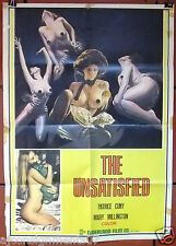 THE UNSATISFIED Rita Cadillac Juventud a la intemperie Lebanese Movie Poster 60s