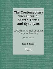 The Contemporary Thesaurus of Search Terms and Synonyms: A Guide for Natural Lan