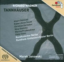 Tannhauser, Wagner, R., New Super Audio CD - DSD