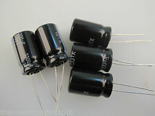 Panasonic 3300uF 10V 105 degrees low ESR FR range electrolytic capacitors 5 pack