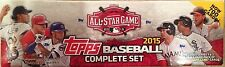 2015 TOPPS Complete Baseball Card All Star FACTORY SEALED Box Set Series 1 & 2