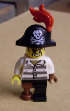 Lego Ninjago Figur - Captain Soto ( 70591 Pirat Holzbein Kapitän ) Neu
