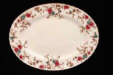 Vintage MINTON England Bone China ANCESTRAL Serving Platter Wreath Backstamp 12""