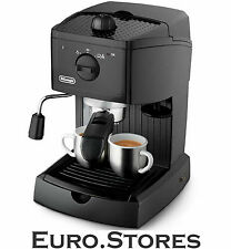 Delonghi EC146.B Pump Espresso Coffee Machine Black Cappuccino System Genuine