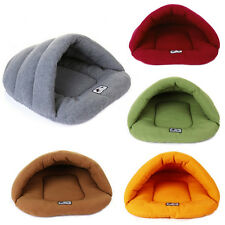 Pet Cat Dog Sleeping Bag Cushion Warm Comfortable House Kennel Bed