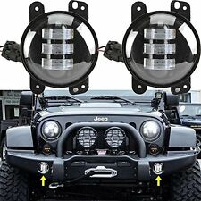 2X 30W 4 inch CREE Led Fog Light for Jeep Wrangler TJ JK FJ CJ 07-14 Bumper