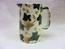 Maple Ivy half pint jug pitcher jug by Heron Cross Pottery