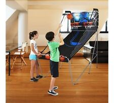 Arcade Basketball Game 2-Player Indoor Play Sport Hoops Shot Gameroom Foldable
