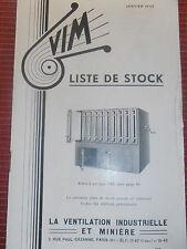 catalogue sur la ventilation industrielle 1942 ( ref 17 ) .