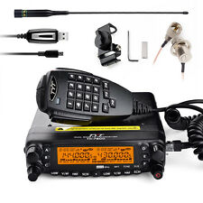 TYT TH7800 Dual Band Dual Display Repeater Car Ham Radio walkie talkie +Micphone