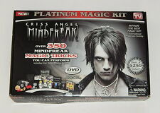Criss Angel Mindfreak Platinum Magic Kit 350 Tricks USED READ R10127
