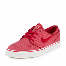 NIKE SB ZOOM STEFAN JANOSKI CANVAS SHOES GYM RED/ WHT   705190 661   SIZE 10