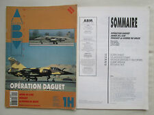 REVUE ABM MAQUETTE MODEL HORS SERIE N°1 OPERATION DAGUET ARMEE AIR GUERRE GOLFE-