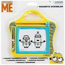 Despicable Me Small Minions Magnetic Scribbler Kids Toy Sketcher Stamper Drawing
