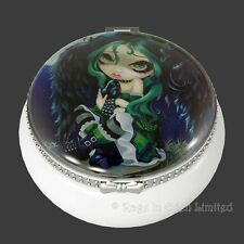 PERCHED & SAT & NOTHING MORE Goth Fairy Mini Trinket Box Jasmine Becket-Griffith