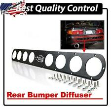 (1) Long Rear Bumper Black Diffuser Civic EG EG6 EG9 Honda 1992-1995 Lancer evo
