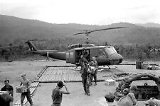 Vietnam 1970 - UH-1 Huey Helicopter Doing A Recon Resupply - Chu Lai Area