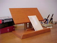 Reading Book Stand - Hard Wood Book Holder Portable for any Book Size & Weight