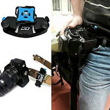 Strong Universal Waist Belt Tripod Mount Clip Adapter For SLR DSLR Camera GoPro