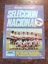 FIFA WORLD CUP Mexico 1986 ARGENTINA TEAM MARADONA Magazine/Poster Seleccion