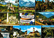 Grüße von der Alpenfahrt , Ansichtskarte ,gelaufen