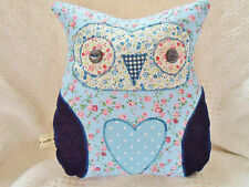 Owl Cushion Kit Patchwork Sewing Craft Kit Beautiful Ditsy Fabrics Sewintocrafts