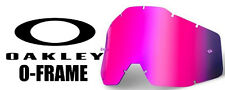 Goggle Shop MX Motocross lens for Oakley 2000 - Mirror Pink