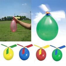 Colors Classic Balloon Helicopter Children Kids Party Bag Filler Flying Toys Set