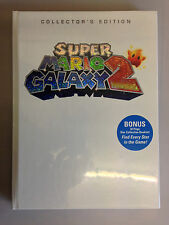 Super Mario Galaxy 2 Collector's Edition - VIDEO GAME STRATEGY GUIDE NEW SEALED
